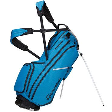 TaylorMade TM20 Flextech Crossover Stand Bag  Blue Grey
