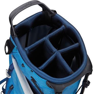 TaylorMade TM20 Flextech Stand Bag  Black White Grey Blue