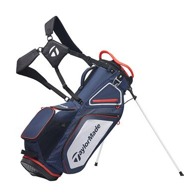 TaylorMade TM20 Stand 8.0 Bag  Navy White Red