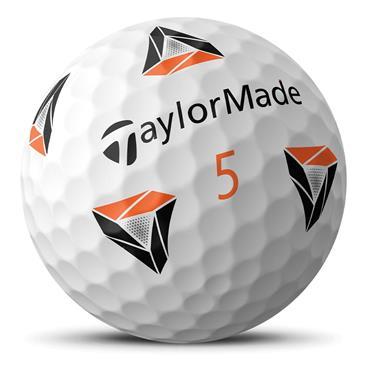 TaylorMade TP5x pix Prior Gen Golf Balls  White