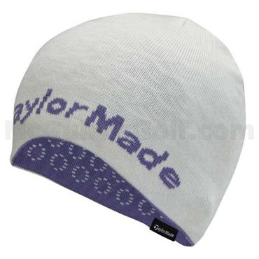 TaylorMade Ladies Tour Knitted Beanie  White