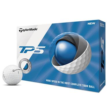 TaylorMade TM19 TP5 Golf Balls Dozen White