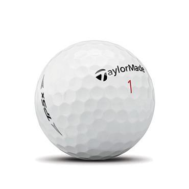TaylorMade TM19 TP5x Bolf Balls Dozen White