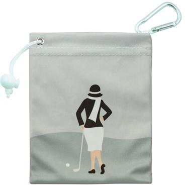 Surprizeshop Ladies Tee & Accessory Bag  Silver