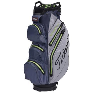 Titleist StaDry Cart Bag 0S Grey Charcoal Apple
