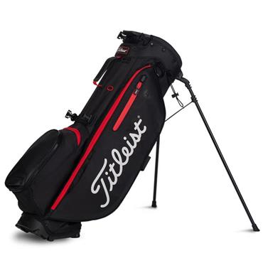 Titleist Players 4 Plus Stand Bag 0S BLACK BLACK RED