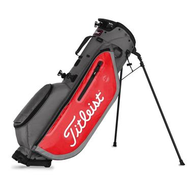 Titleist Players 4 Stand Bag 0S GRAPHITE RED