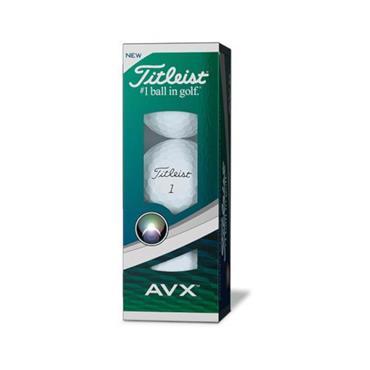 Titleist AVX Golf Balls Dozen  White
