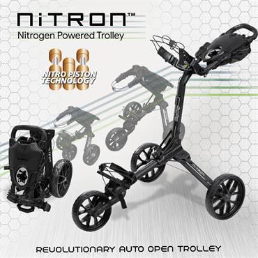 BagBoy BagBoy Nitron Trolley  Graphite Grey