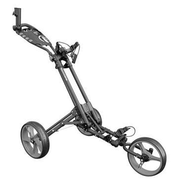 Masters Golf iCart One 3 Wheel Push Trolley  Grey/Black