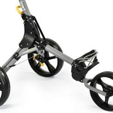 Masters Golf iCart Compact Evo Push Trolley  Grey/Black