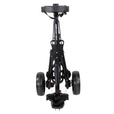 Masters Golf 3 Series 3 Wheel Push Trolley  Black