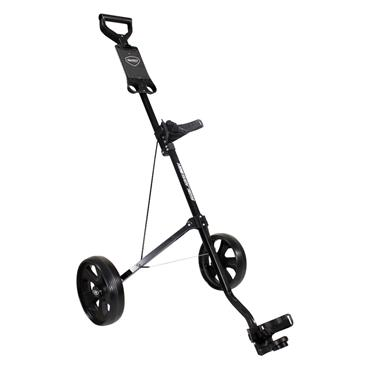 Masters Golf 1 Series 2 Wheel Pull Trolley  Black