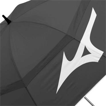 Mizuno Tour Twin Canopy Umbrella  Black - White