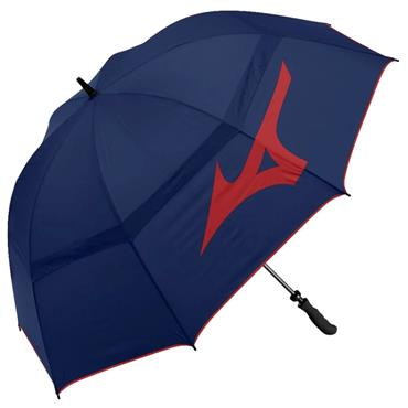 Mizuno Tour Twin Canopy Umbrella  Navy/Red