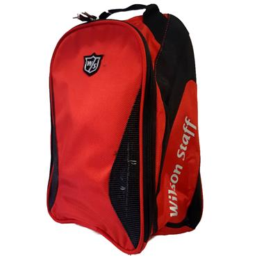 Wilson Staff Shoe Bag  Red