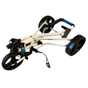 Wishbone VO 3 Wheel Cart  White