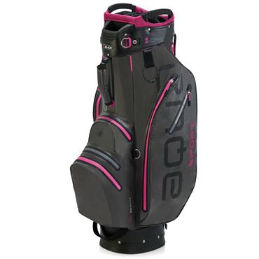 Big Max Aqua Sport 2 Cart Bag  Charcoal Fuchsia