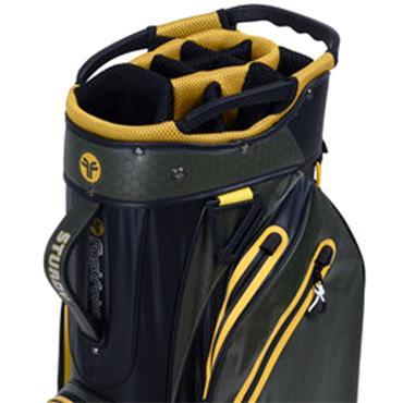 FastFold Sturdy Waterproof Cart Bag  Navy Grey Lime