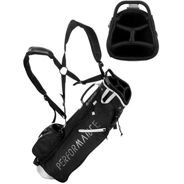 FastFold Performance Pencil Stand Bag  Black Silver