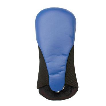 Shamrock Faux Leather Fairway Headcover  Blue