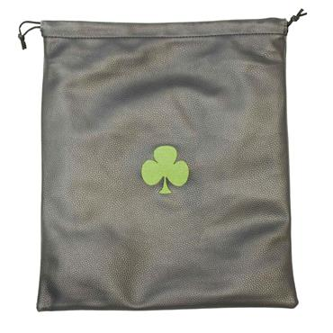 Shamrock Shoe Bag  Black