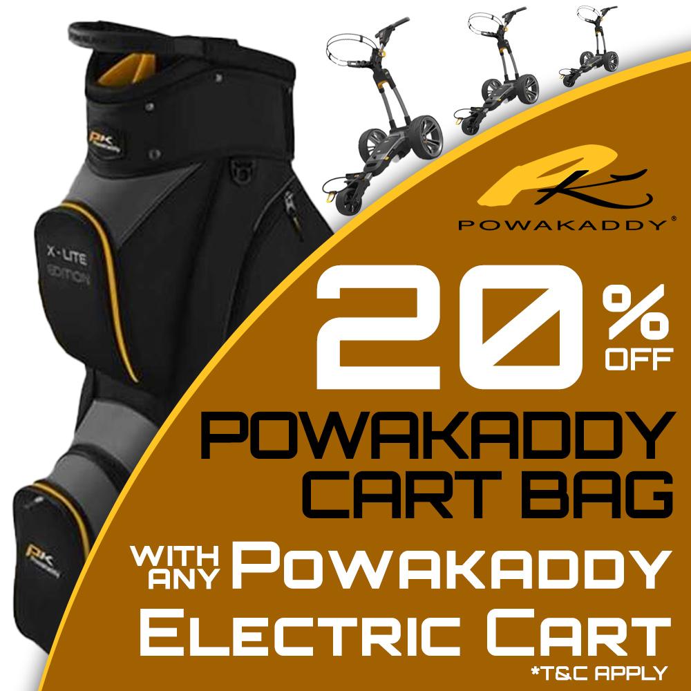 20% Off PowaKaddy Cart Bags