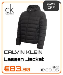 Calvin Klein Golf Gents Lassen Padded Jacket sale