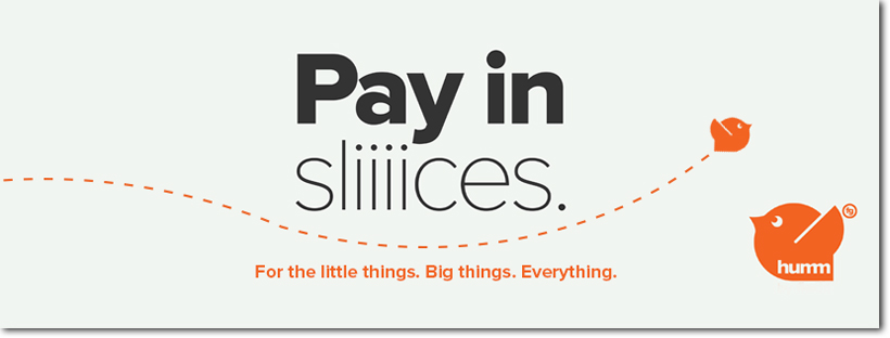 humm - pay in slices
