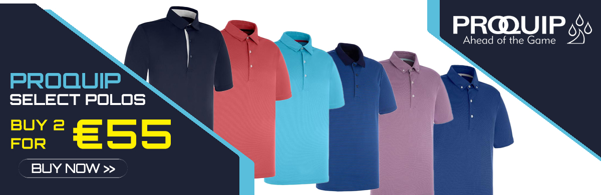 Buy 2 For €55 - Proquip Polo Shirts