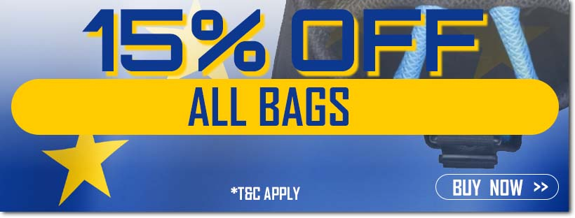 Ryder Cup Sale - 15% Off Bags