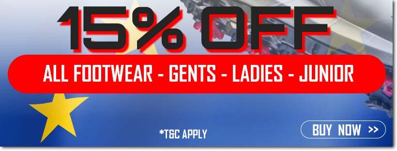 Ryder Cup Sale - 15% Off Footwear