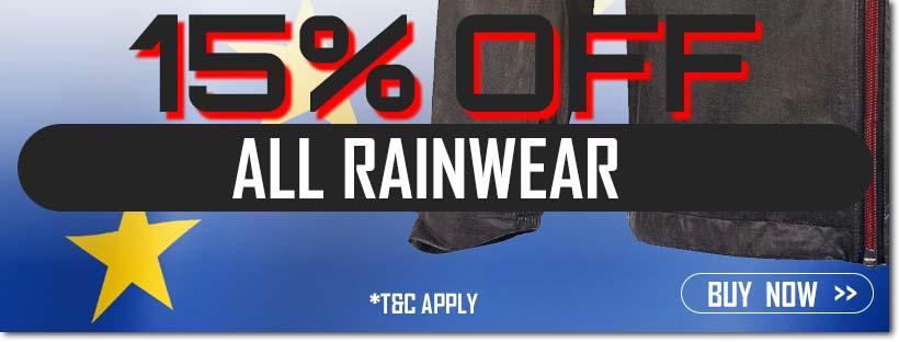 Ryder Cup Sale - 15% Off Rainwear