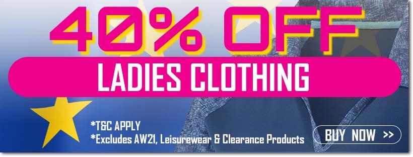 Ryder Cup Sale - Ladies Clothing
