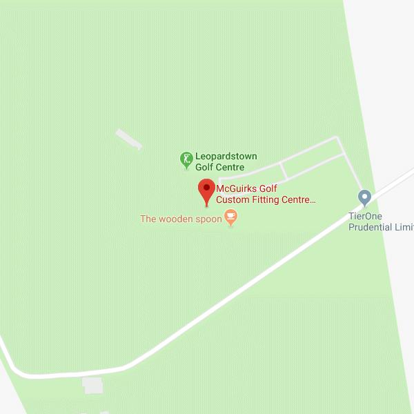 McGuirks Golf Leopardstown Golf Centre location map