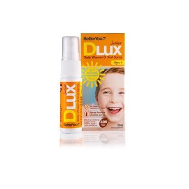 BetterYou Junior DLUX Daily Vitamin D Oral Spray 400IU 15ml