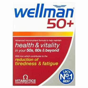 Vitabiotics Wellman 50+ 30 Pack