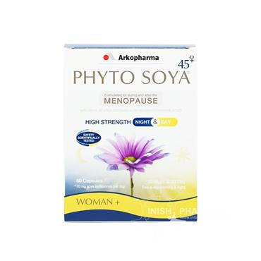 Arkopharma Phyto Soya High Strength Night & Day 60 Pack