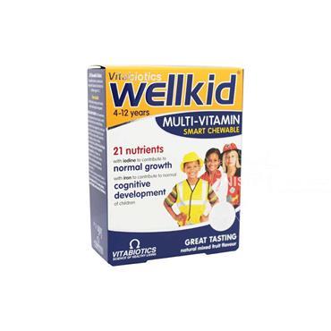 Vitabiotics Wellkid Multivitamin 30 Pack