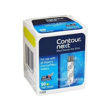 Contour Next Blood Glucose Test Strips 50 Pack