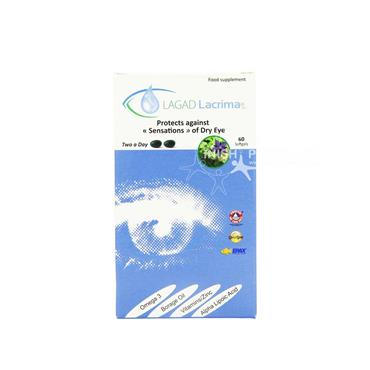 LAGAD Lacrima Protection Against Sensations of Dry Eye 60 Softgels