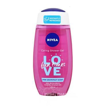 Nivea Shower Love Fun Time Pink Grapefruit Scent 250ml