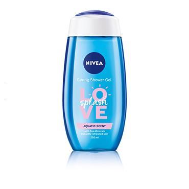 Nivea Shower Love Splash Aqautic Scent 250ml