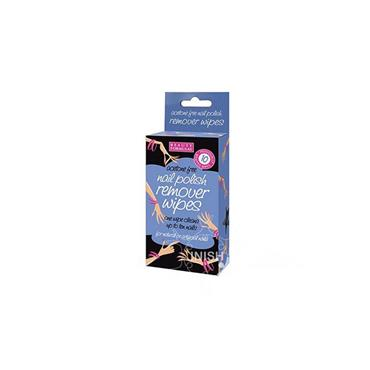 Beauty Formulas Acetone Free Nail Polish Remover Wipes 10 Pack