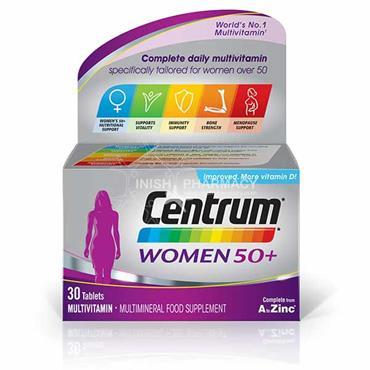 Centrum Women 50+ Multivitamins 30 Pack
