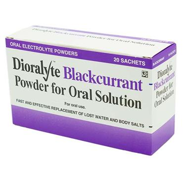 Dioralyte Blackcurrant 20 Pack