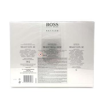 Hugo Boss Bottled For Men 3 Piece Gift Set