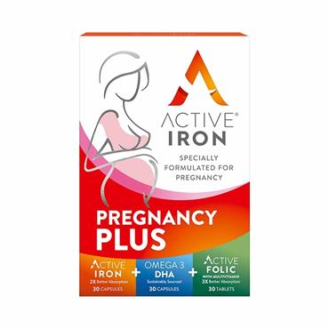 Active Iron for Pregnancy Plus 90 Pack