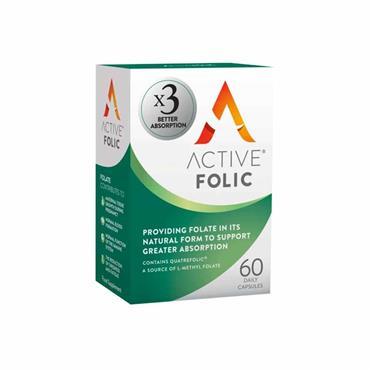 Active Folic Better Absorption Folic Acid 60 Pack