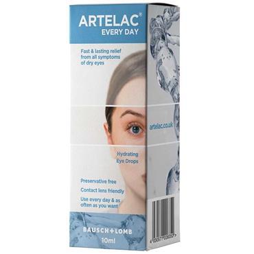 Artelac Everyday Hydrating Eye Drops 10ml